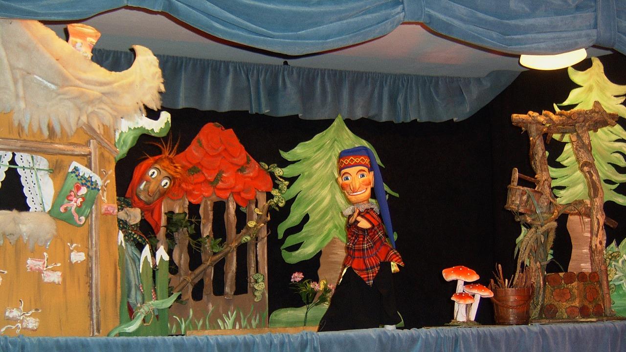 Die Wunderblume im Rabatz Puppentheater